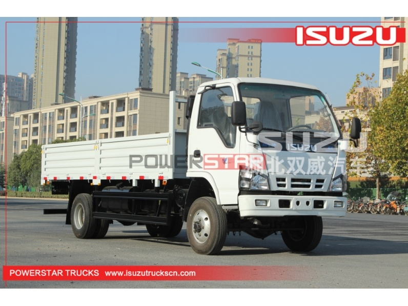 Philippines ISUZU 600P NKR ELF 4WD 4X4 Flatbed Cargo Lorry Trucks