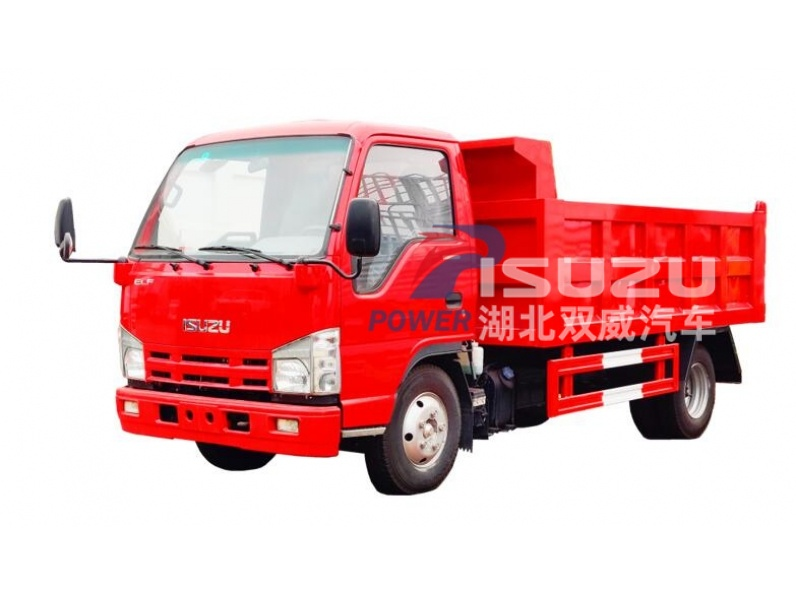New Model ISUZU 100P ELF 3ton-5ton Light Dump Tuck Tipper Truck for Sale
