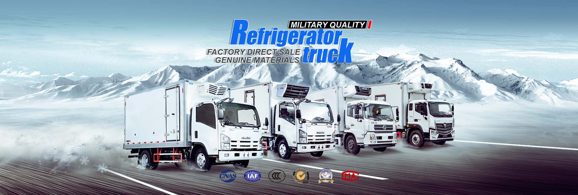 Isuzu Refrigerated trucks